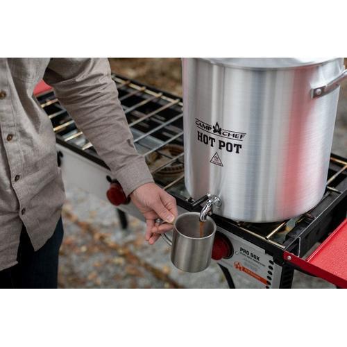Aluminum Hot Water Pot - 32 QT