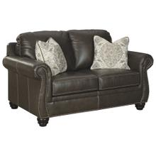 Lawthorn Leather Loveseat