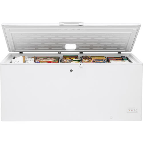 GE 21.7 Cu. Ft. Manual Defrost Chest Freezer - FCM22DLWW