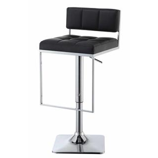 Talia Adjustable Bar Stool Black