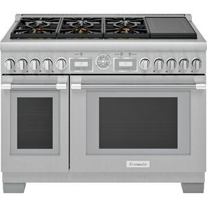 Thermador  48-Inch Pro Grand Commercial Depth Dual Fuel Range