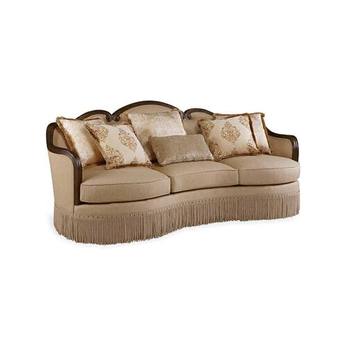 Giovanna Golden Quartz Sofa
