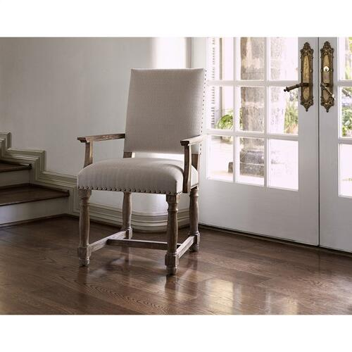 Voranado Arm Chair - Swag Flax