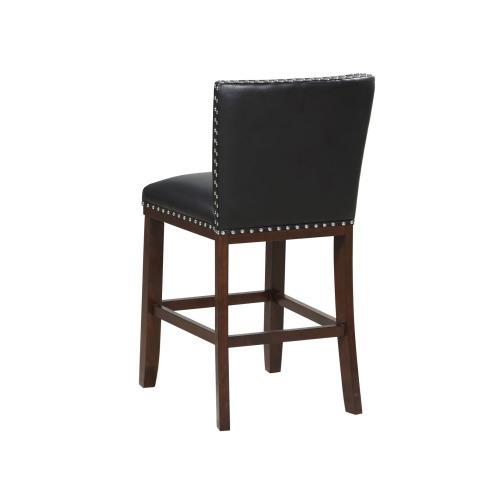 Tiffany KD Counter Chair, Black
