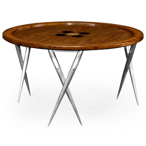 """Cute As A Button"" Coffee Table"