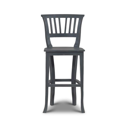 Gallery - Manchester Barstool w/ Wooden Seat - PEB