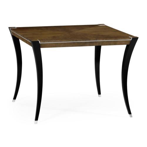 "48"" American Walnut High Top Table"