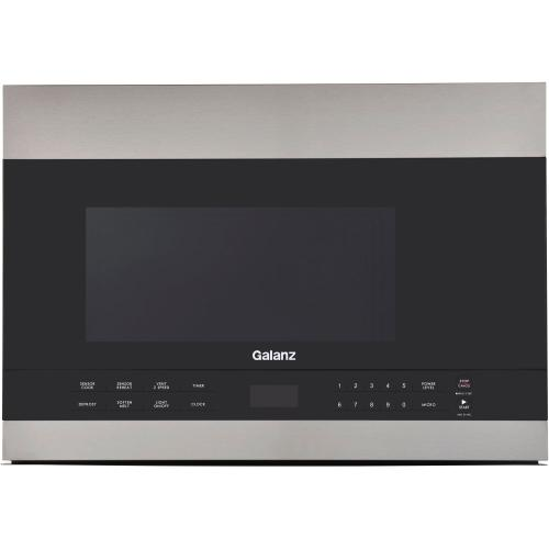 Galanz 1.4 Cu Ft Over-The-Range Microwave in Stainless Steel