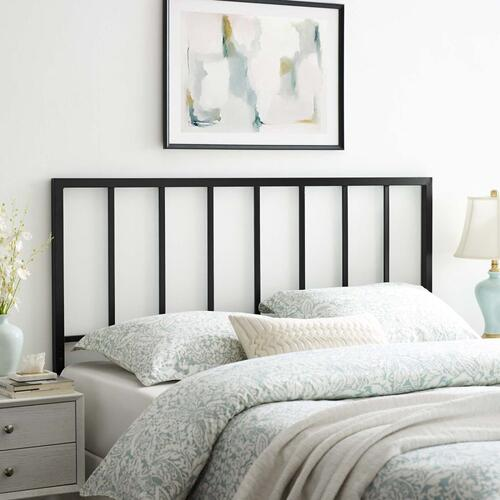 Tatum Full Metal Headboard in Black