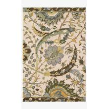 View Product - MF-13 Ivory / Green Rug
