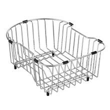 "Moen Stainless Steel D Shape Rinse Basket Accessory 13"" x 16.5"""