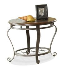 Eastview Round Side Table Tuscan Sun finish