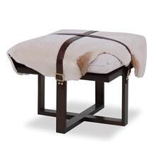 See Details - Buckled Ottoman