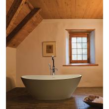 Elise  63-inch Freestanding Tub With Pedestal
