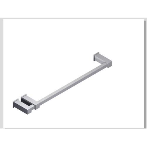 "Loft 18"" Double Post Towel Bar SQU + SQU Escutcheon Chrome"