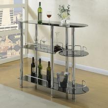 Vilko Black Bar Stand