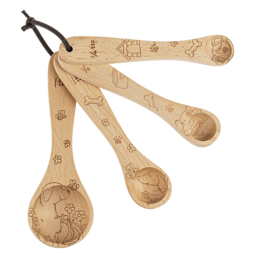 Measuring Spoons - Dogs (4 pc. set)