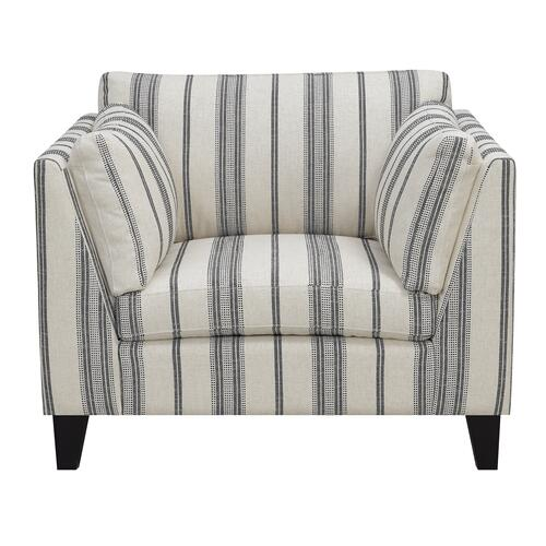 Emerald Home Elsbury Accent Chair U3446-02-13, Gray
