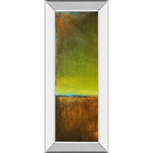 """""""Antigua Bay I"""" By Erin Ashley Mirror Framed Print Wall Art"""