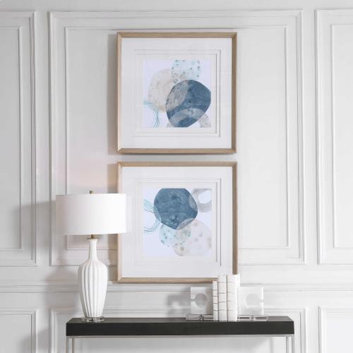 Uttermost - Circlet Framed Prints, S/2