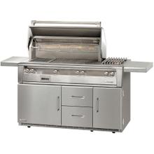 """See Details - 56"""" Standard Grill on Refrigerated Base, Size Bruner, Sear Zone"""