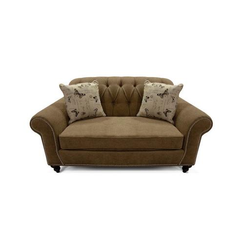 V576N Loveseat with Nails
