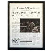 """See Details - """"RUMBLE IN THE JUNGLE"""""""
