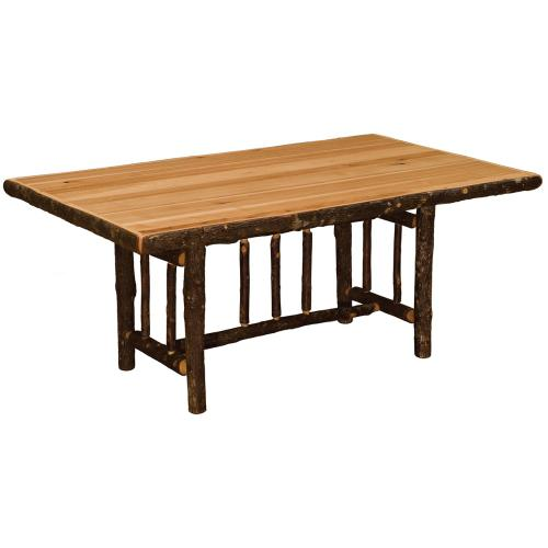 Dining Table - 5-foot - Natural Hickory - Armor Finish