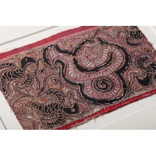 0351760017 Chinese Silk Wall Art