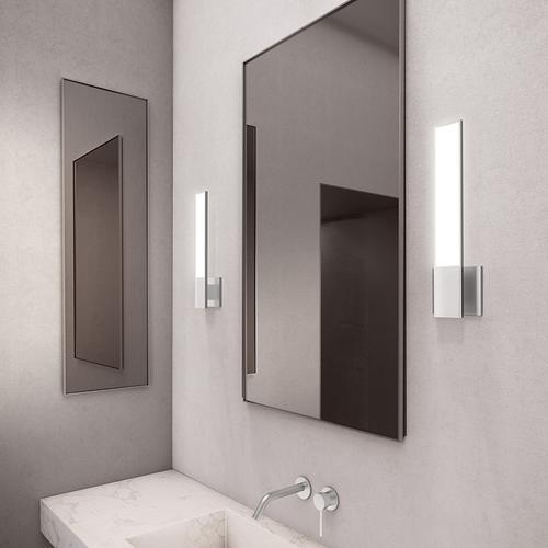 Sonneman - A Way of Light - Planes LED Sconce [Color/Finish=Bright Satin Aluminum]