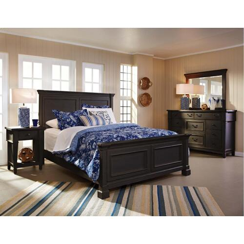 5 Piece Bedroom - King Bed, Dresser, Mirror, Chest