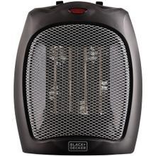 1,500-Watt Desktop Ceramic Heater (Black)