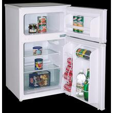 Model RA3100WT - 3.1 CF Two Door Counterhigh Refrigerator - White