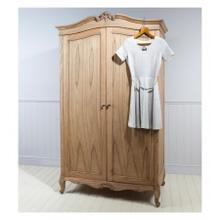 GA Chic 2 Door Wardrobe Weathered