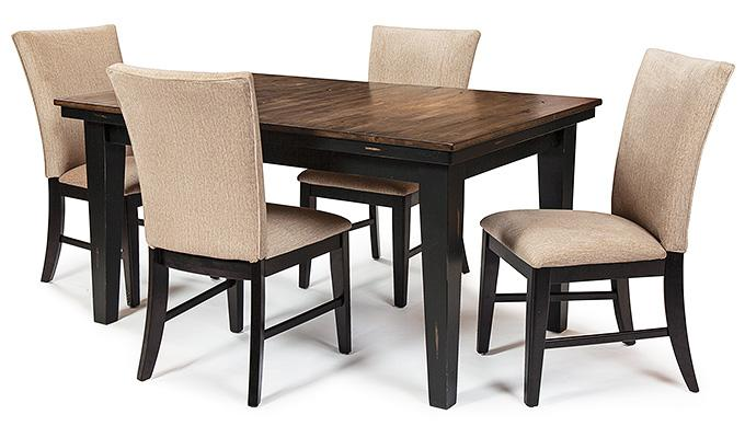 Table Legs: Standard Height (ebony)