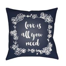 "Love All You Need QTE-046 20"" x 20"""
