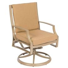 See Details - Seal Cove Swivel Dining Armchair with Optional back cushion
