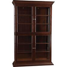 Wood Back Display Cabinet