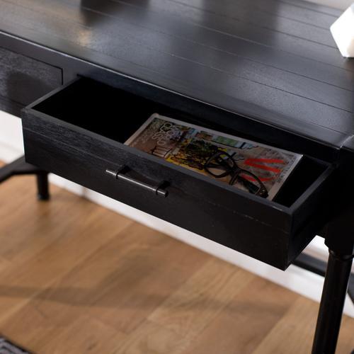 Filbert Writing Desk - Black