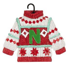 Sweater Ornament - N
