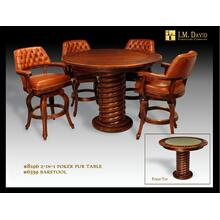 8196 Poker Pub Table