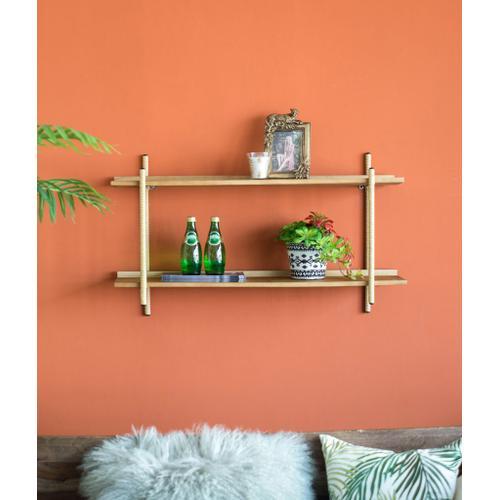 A & B Home - Two Tiers Shelf
