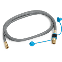 "10' Natural Gas Hose with 1/2"" Quick Connect"