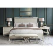 Maisie - Upholstered Bed Bench - Champagne Finish Product Image