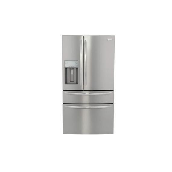 Frigidaire Gallery - Frigidaire Gallery 21.4 Cu. Ft. Counter-Depth 4-Door French Door Refrigerator