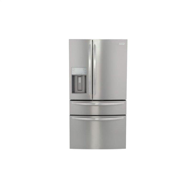 Gallery 21.4 Cu. Ft. Counter-Depth 4-Door French Door Refrigerator