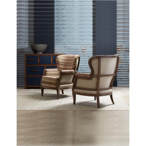 Living Room Calhoun Exposed Wood Chair