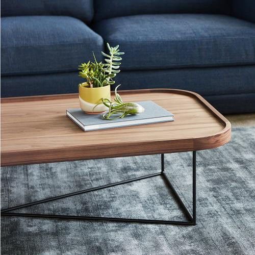 Product Image - Porter Coffee Table - Rectangle New Blonde Ash / Black