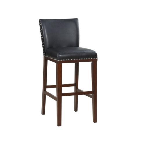 Tiffany KD Bar Chair, Black