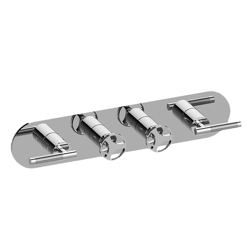 M-Series Valve Trim with Four Handles - Trim only